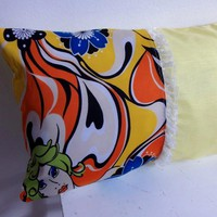 Yellow Decorative Cover For Pillow.. on Luulla