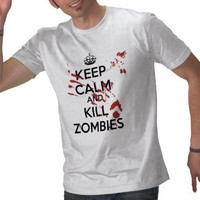 Keep Calm Tee Shirt from Zazzle.com