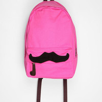 Carrot Mustache Backpack