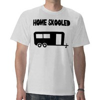 Home Skooled T-Shirt from Zazzle.com