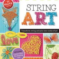 Klutz: String Art - Interactive - The Scholastic Store