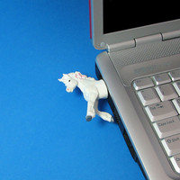 Unicorn USB flash drive by hemingwayfun on Etsy