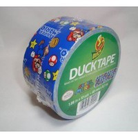 Duck Brand 1.88-inch By 10-yards Super Mario Duct Tape - Amazon.com