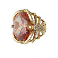 Samantha Wills La Vie En Rose Ring Amber