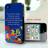 Mr Grinch and Max iphone 4 case, Iphone case, Iphone 4s cover