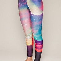 Cosmic Night Leggings, Drop Dead Clothing
