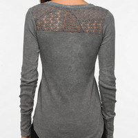 Threads 4 Thought Lace-Back Acid Wash Thermal