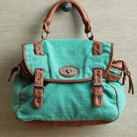 Mint Green Purse / Messenger Bag