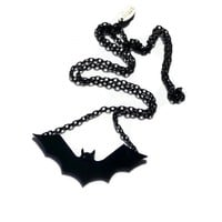 Halloween Jewelry,Bat Necklace,Lase.. on Luulla
