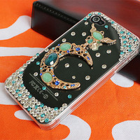 cyathia iphone 4 cases, iphone 4s case,transparent iphone cases 4 4s,  crystal  iphone 4 cover,bling iphone 4 cases