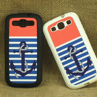 Samsung Galaxy S3 case --Anchor, silicone rubber case ,more protection for your phone