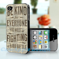 Fighting Quote Dictionary Art - Apple iPhone 4 Case iPhone 4S Case iPhone Hard Case iPhone 4 Case Cover