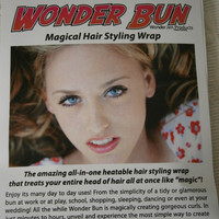 Wonder Bun Magical Hair Styling Wrap - Bombshell Brown