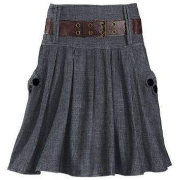 Belted Dolce Skirt at Pyramid Collection
