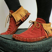 MADE FOR YOU, Inca fringe moccasins