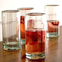 Chunky Recycled Glassware | west elm