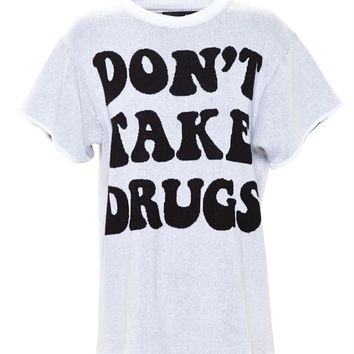 Woven Drugs Top - JEREMY SCOTT