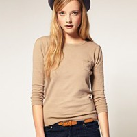 A Wear | A|Wear 3/4 Sleeve Basic Sweater at ASOS