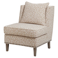 Suvretta Leopard Accent Chair, Accent & Occasional Chairs