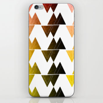 Triangles iPhone & iPod Skin by VanessaGF