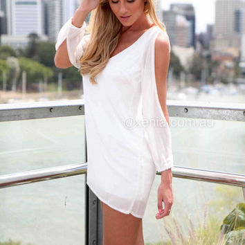 Billowing Dress | Xenia Boutique
