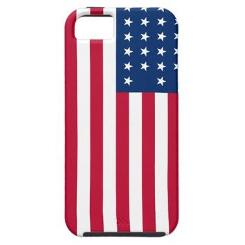 American Flag Patriotic iPhone 5 Cover