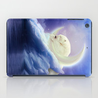 Guard Your Heart. Protect Your Dreams. (Polar Moon) iPad Case by Soaring Anchor Designs