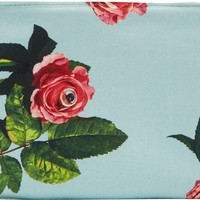 Mint & Red Eyed Roses Toilet Paper Edition Pouch
