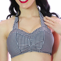 Chloe Gingham High Waist Bottoms