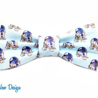 R2 D2 Bow Tie with Adjustable Strap