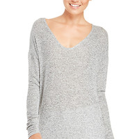 DailyLook: DAILYLOOK Dolman Sleeve Knit Top in Gray XS - L