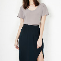 DailyLook: Gentle Fawn Roy Skirt in Dark Green 2 - 8