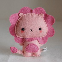 Etsy Transaction - Kawaii Lion Plush
