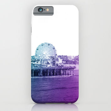 Santa Monica Pier iPhone & iPod Case by Whitney Werner