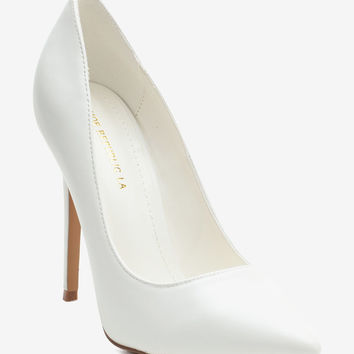 Anniston Faux Leather Pump
