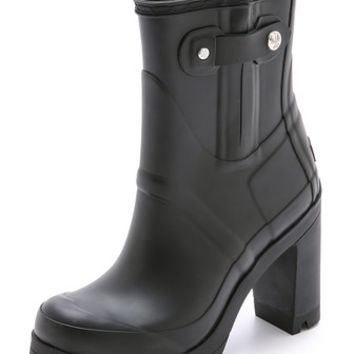 Hunter Boots Original High Heel Booties