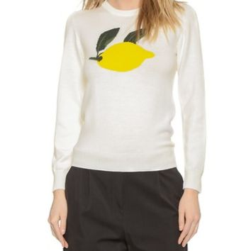 J.W. Anderson Lemon Crew Neck Sweatshirt