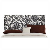 Skyline Furniture Slipcover Headboard in Florenza Black and White | All Modern