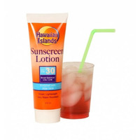 Smuggle Your Booze Sunscreen Lotion Tube Flask Hide Beer Whisky Liquor Fun Gift