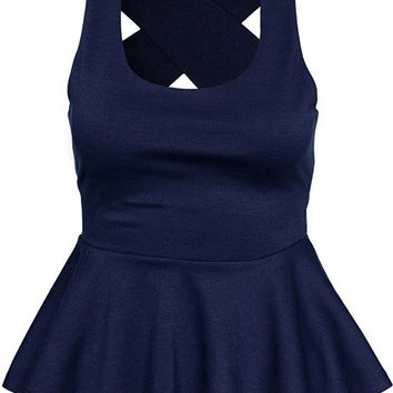Cross Back Top, NLY Trend