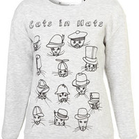 Cats Sweat By Tee And Cake