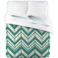 DENY Designs Home Accessories | Heather Dutton Weathered Chevron Duvet Cover