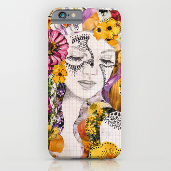 Flora iPhone & iPod Case by Jenndalyn