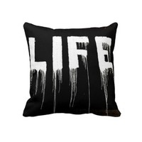 Life Graffiti Drips from Zazzle.com