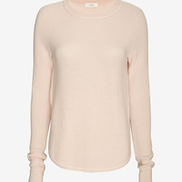 A.L.C. Jayne Side Slit Sweater at INTERMIX | Shop Now | Shop IntermixOnline.com