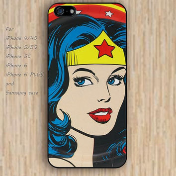 iPhone 6 case dream wonder woman iphone case,ipod case,samsung galaxy case available plastic rubber case waterproof B146