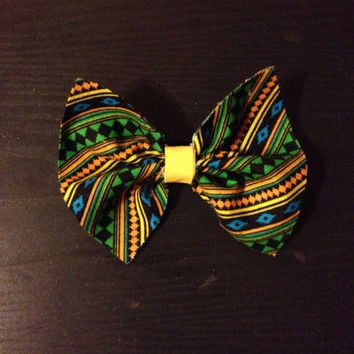 African/Ethnic Hair Bows-Hair Accessories from Nicole Ray