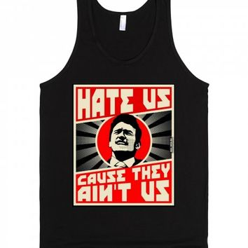 The Interview: Hate Us Cause They Ain't Us | Tank Top | SKREENED
