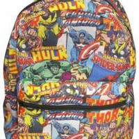 Marvel Comics, Backpack, Collage