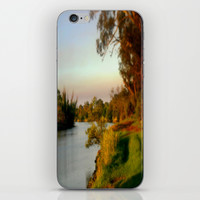 Banks of the Thompson River iPhone & iPod Skin by Chris' Landscape Images Of Australia